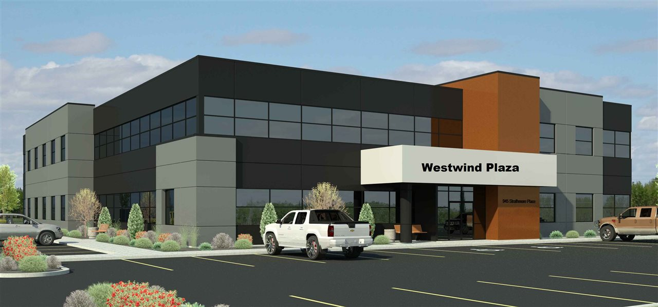 WESTWIND PLAZA    Spruce Groves newest Professional Office Building Located in Westwind Centre on the Southeast corner of Century Road and Yellowhead.  2 - 26000 sq Ft Precast Concrete Professional Office Buildings currently under Construction . Spaces available from 840 Sq. Ft to 13000 per Floor . Elevator, Lots of Parking, good access, Hotel, Grocery store and full strip mall being constructed in the centre. Summer 2017 Occupancy