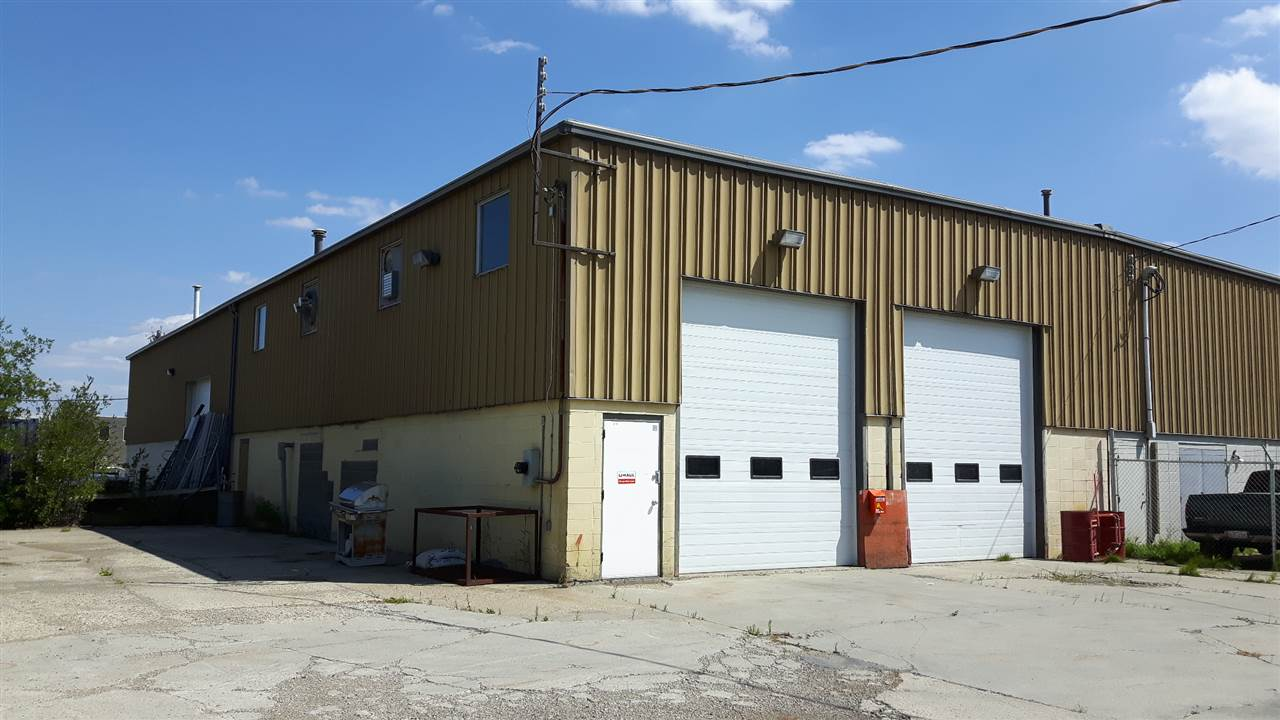 2370 sq ft warehouse on .28 acres zoned IM. Yard is concrete and fenced. Building has 2-12'x14' insulated overhead doors. Heating consists of 2 overhead heaters and 2-35' strips of overhead radiant heating. Great proximity to Yellowhead and Anthony Henday.  Monthly condo fees: $103  Condominium fees include: liability insurance for the building shell and common areas, and common area snow removal & surface maintenance.
