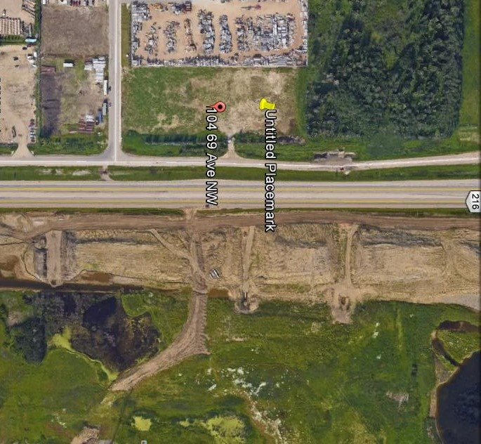 4.03 acres with 641 feet of Highway frontage along Meridian Street. Zoned light industrial. City Services at property line. Ready for development!!!