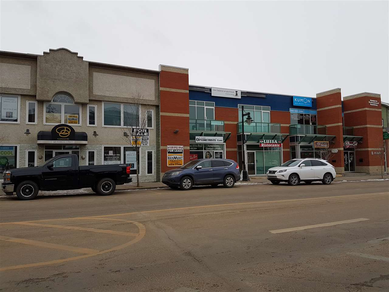 DOWNTOWN STUDIO/OFFICE SPACE IDEAL FOR PROFESSIONAL, LAWYER, THERAPIST, ARCHITECT, DRAFTS PERSON, DESIGNER, PROFESSIONAL DECORATOR, PSYCHOLOGIST, ETC. 1180 SQ. FT IS FULLY DEVELOPED WITH OPEN SPACE PLUS 2 PRIVATE OFFICES.  BALCONY WITH VIEW OF CITY HALL IDEAL FOR CLIENT APPRECIATION PARTIES!  WATCH THE FIREWORKS!  ENJOY THE TRES CHIC LIFESTYLE OF WORKING IN DOWNTOWN ST. ALBERT. AIR CONDITIONED. JUST STEPS AWAY FROM FARMERS' MARKET. RIGHT IN THE HEART OF CANADA'S MOST DESIRABLE CITIES - HISTORIC, LOVELY, SUCCESSFUL ST. ALBERT.