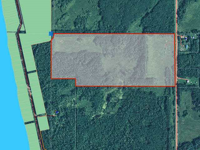 Great opportunity to develop 66 acres in Mulhurst Bay next door to Silver Beach located on Northeast side of the Pigeon Lake. Only 45 minutes drive  from Southwest of Edmonton. There is power and double garage on the property. Ideal location for RV park, trailer or boat storage facility. The owner is willing to erect wire mesh fence and storage facility at extra cost.