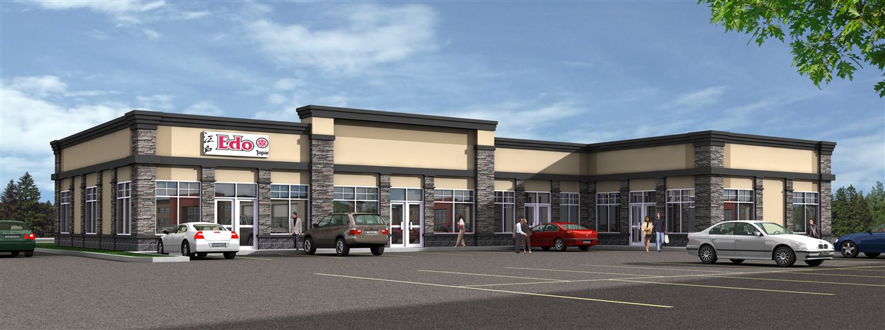Our newest phase at Sunrise Village in Stony Plain in now available for lease. Sunrise Village Plaza is just off Highway 16A and across the street from the regional hospital. We are presently offering this 4 bay expansion with unit 3 remaining retail bays for lease as well as two bays in our first phase. Our sizes range from: Unit 501-1,808 sq.ft, Unit 502-1,309 sq.ft and Unit 503-1,312 sq.ft. Ideal for medical, professional and retail businesses looking to grow or increase your presence in this high traffic location with all new construction. Major anchors include: Shoppers Drug Mart, Safeway w/Starbucks, Original Joes, Edo Japan, Scotia Bank and more. Ample parking & signage! Lease rates from $4,363/month or $30-$32/ft NNN with operating costs of $10/ft including taxes, ready for immediate possessions.