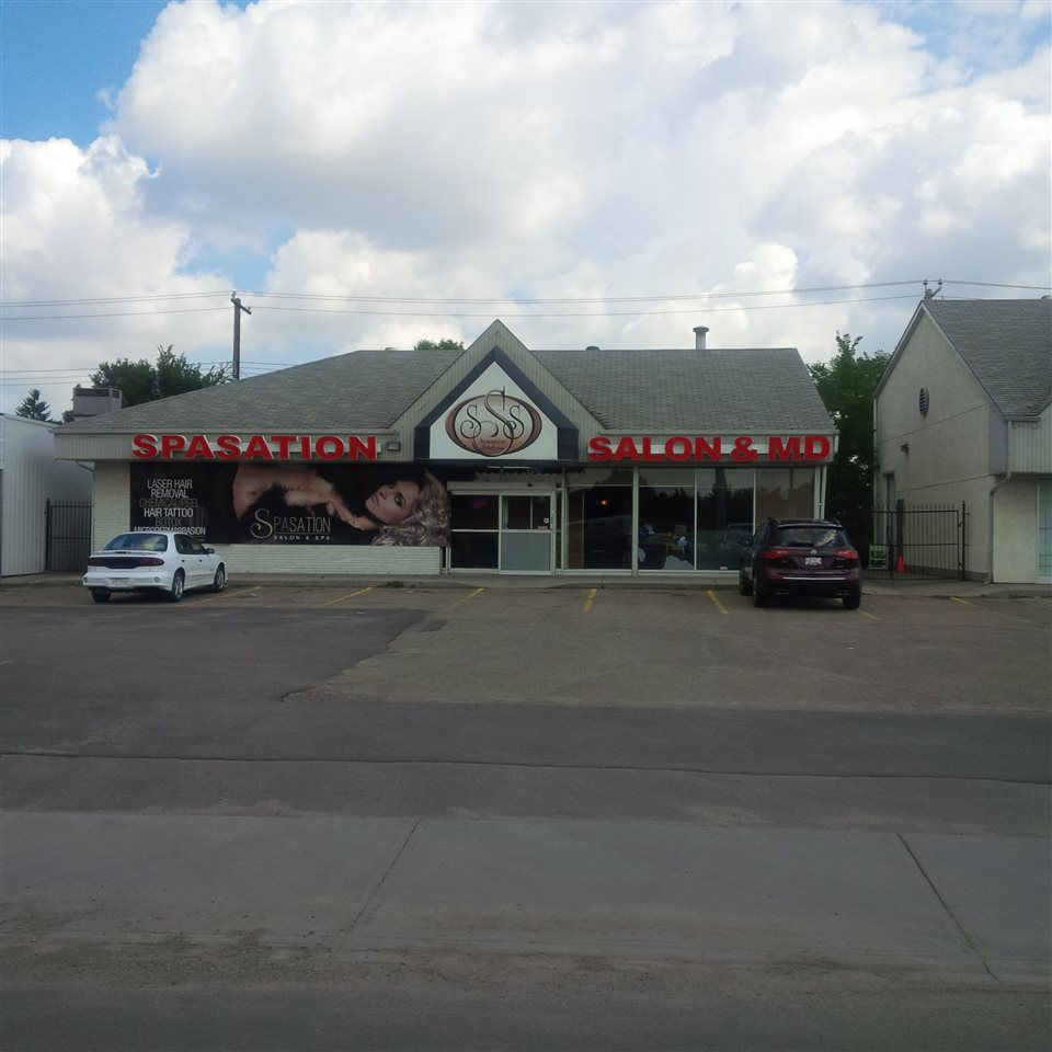 Location! Location! Location!  Fantastic 4800 sq.ft. main and lower level fully developed prime retail space located on 97 Street & 124 Avenue.  Next to Yellowhead Trail.  Excellent exposure off 97 Street with thousands of cars driving by daily.  Lots of parking stalls in front.  Perfect for SPA owners, beauty salon, doctors office, dentist, medical lab, real estate office, accounting office, marketing office, lawyer office, bakery, financial office, physio therapy office, massage therapy, and many more opportunities.  Only $5,000 per month plus utilities.  For 5 year lease & option.