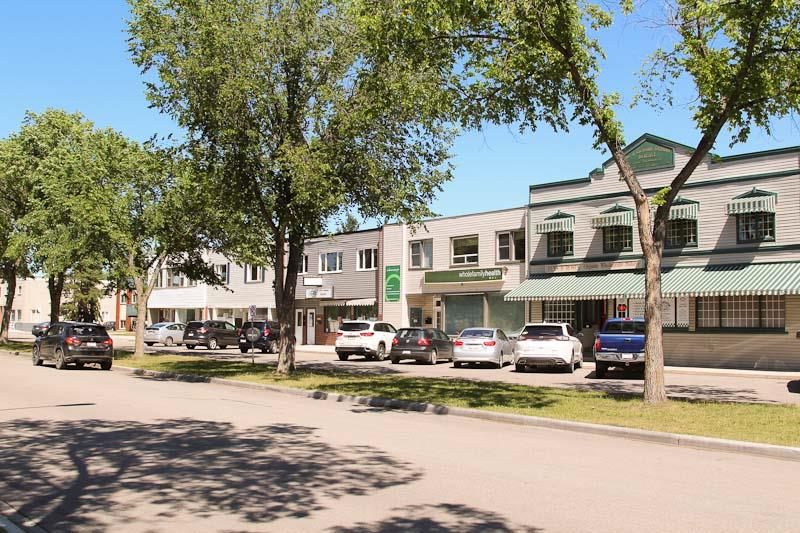 Parkallen - Commercial - zoning: CNC - Beautifully finished and maintained - 2,438 sq. ft. two storey - finished basement - 4 units - 4 separate entrances - 4 baths - 2 kitchens - good location - In the heart of Parkallen. Fronts park - 6527 - 111 St - 6529 - 111 St - 6531 - 111 St - 6531A - 111 St.