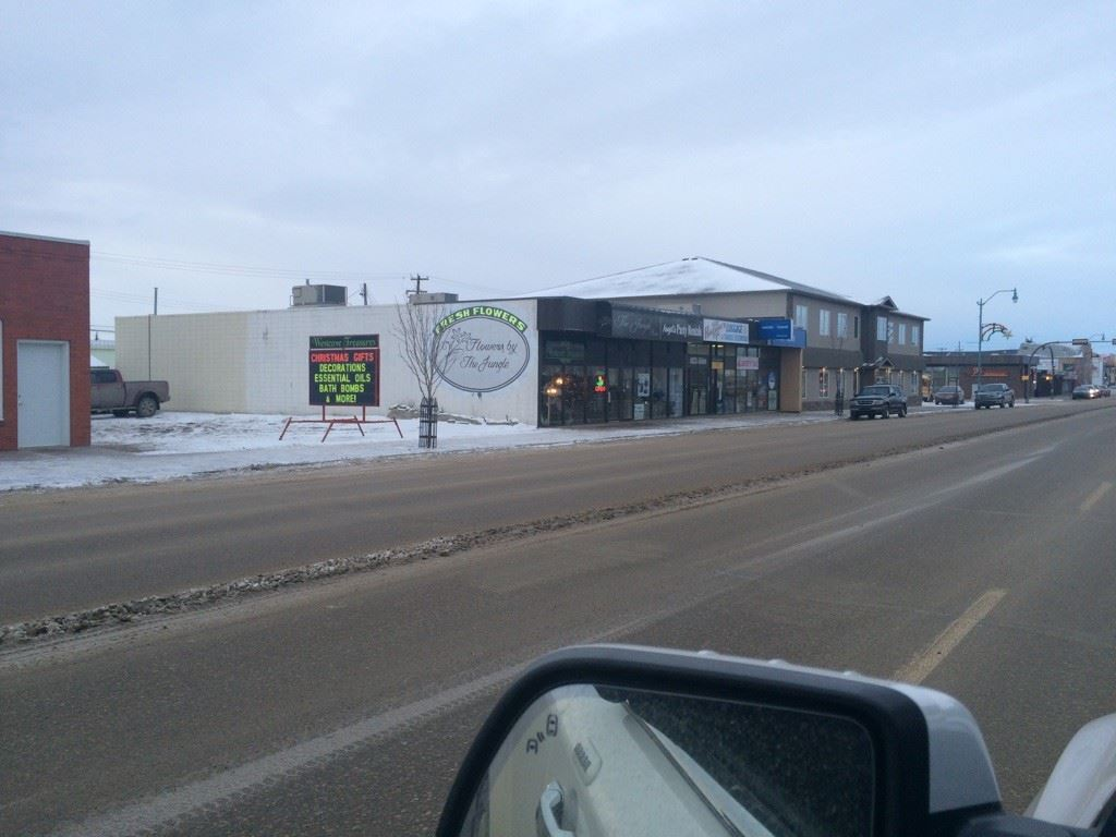 Great investment property with fully rented commercial building in St. Paul, Alberta. 8 graveled parking stalls in rear as well as street parking. Many upgrades in recent years. All long term tenants. Financials are available to serious buyers.