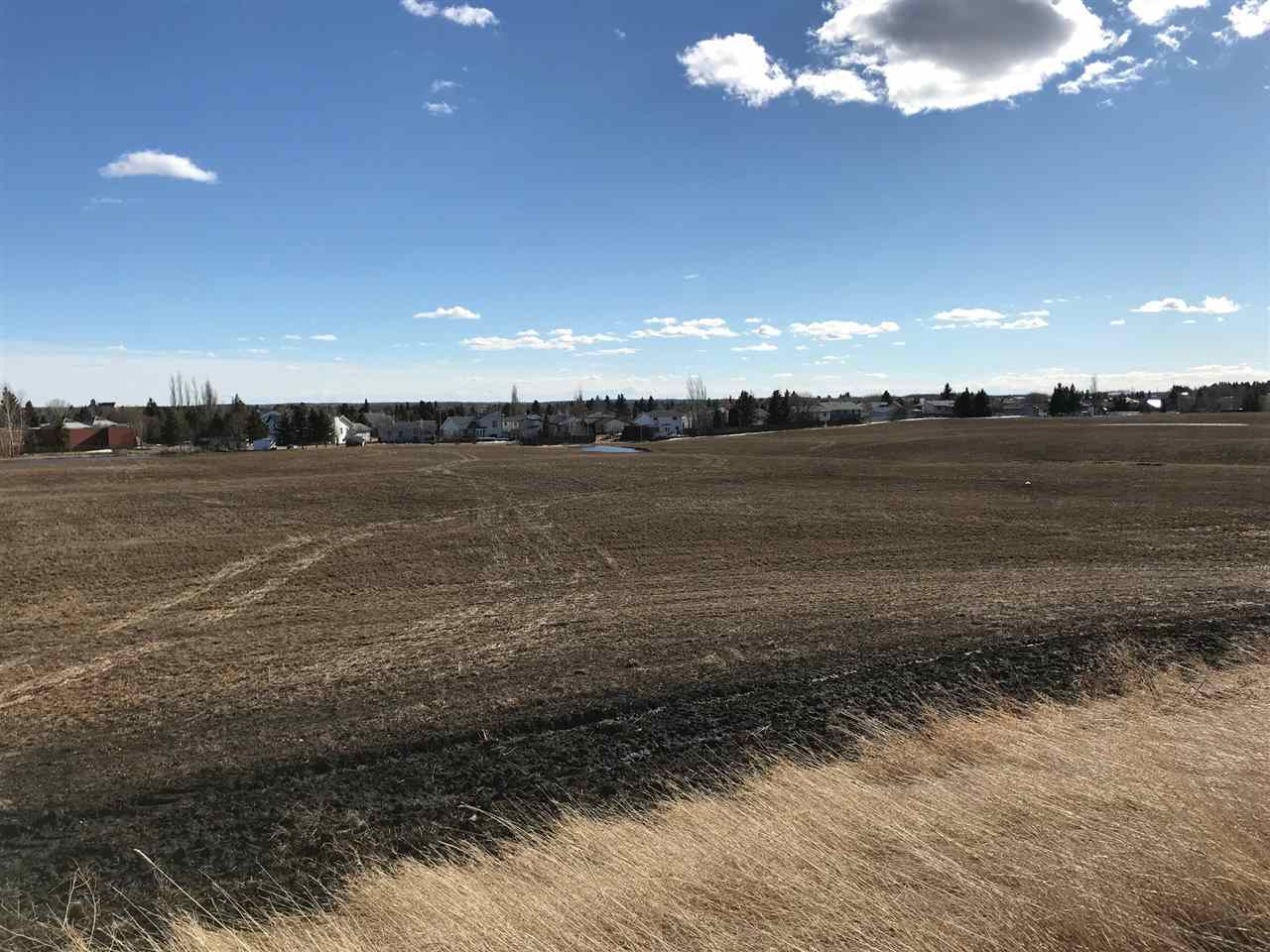 Developers wanted. Excellent opportunity in a town of Barrhead to develop 40 acres of land. 22 Subdivided lots 1 acre and up. Power, gas and water at the property. Sewer needs to be brought from nearby Residential subdivision. Local RCMP, Cal and Ramada. Express interest in new developments, so is the seller to build.