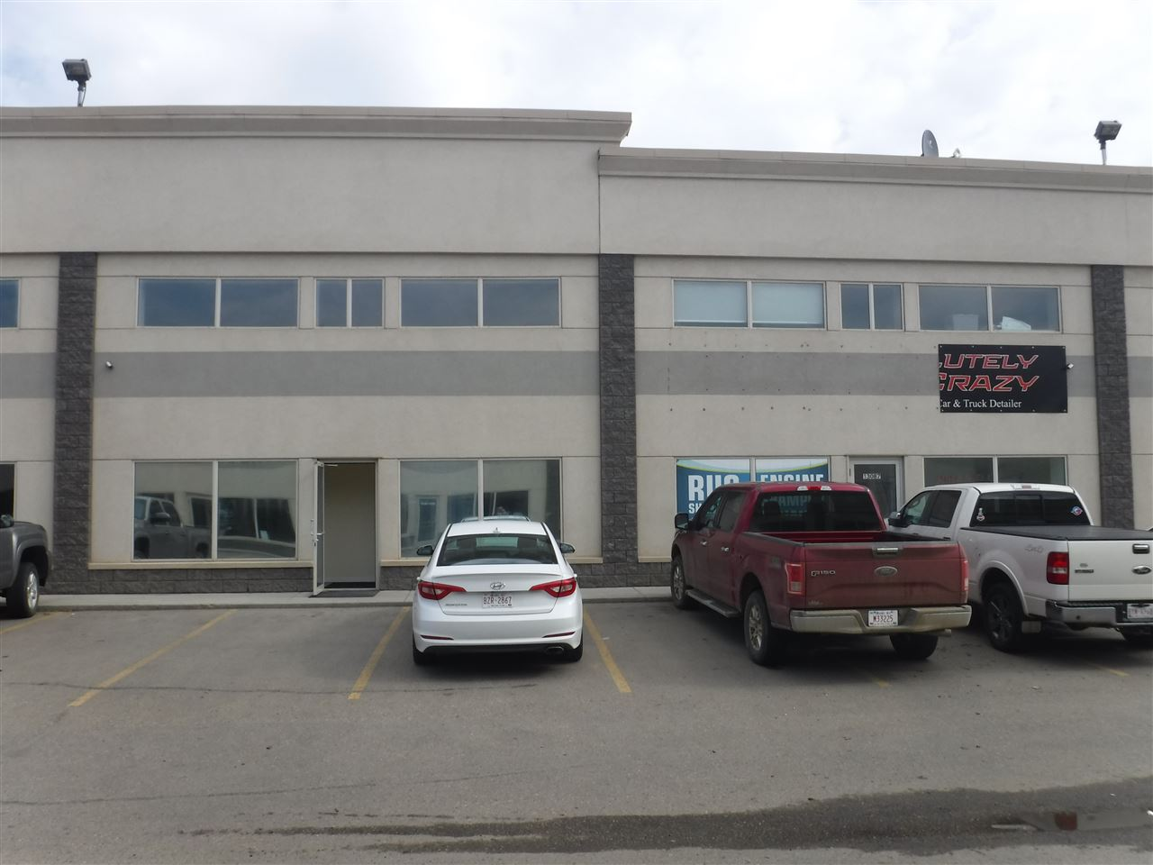 Two side by side commercial condo bays for sale. Business Industrial zoning, permitted uses include breweries, wineries and distilleries, Cannabis retail sales, equipment rentals, general industrial uses and more.  Current use is high traffic Auto Detailing plus Lunch Cafe servicing the Businesses in the area. This is a great opportunity for an owner operator situation with a total of almost 6400 sq ft including mezzanine. Both units have their own front retail with mezzanine above that could be used for storage, offices or staff lunch room. Could convert to separated bays with demising walls in bays added, and HVAC separation.