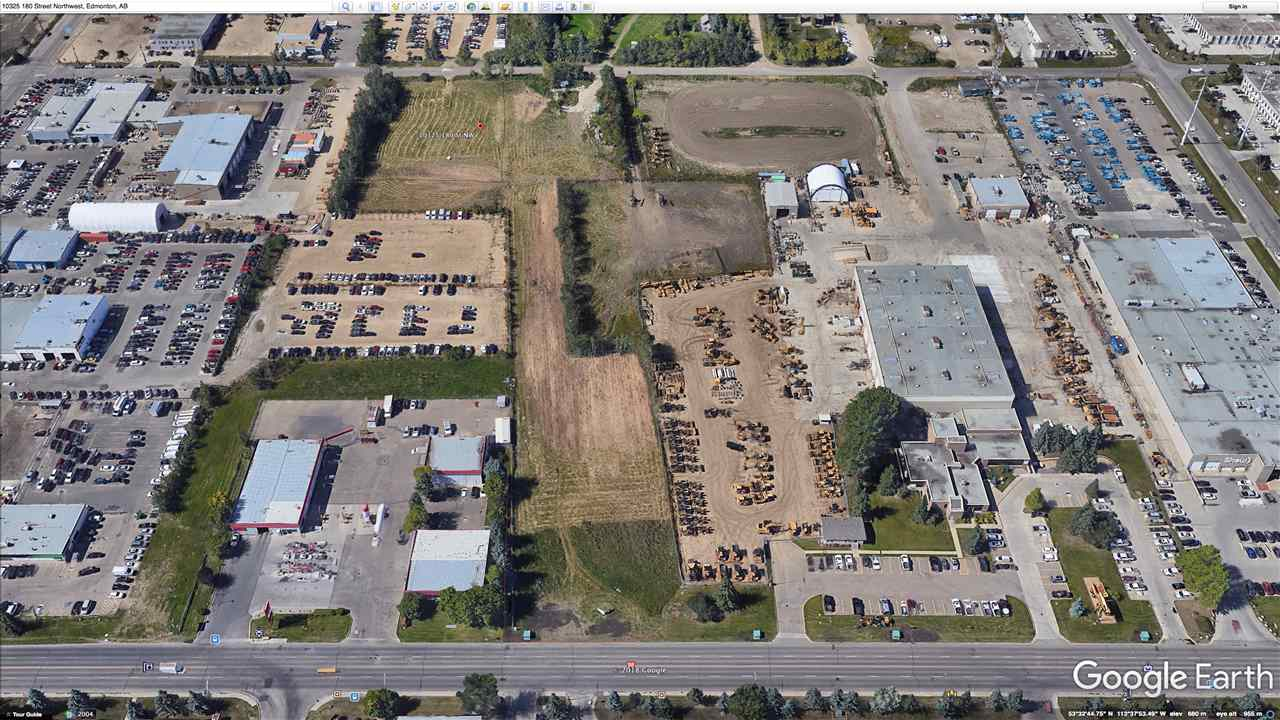 INVESTOR ALERT!!! 4.54 ACRES  IB ZONED INDUSTRIAL LAND . PRIME WEST END LOCATION FACING  178 STREET WITH A HIGH VOLUME OF TRAFFIC  ( 24000 VEHICLES PER DAY). EXCELLENT ACCESS AND HIGH  EXPOSURE . SURROUNDED BY ESTABLISHED DEVELOPMENTS AND BUSINESSES.