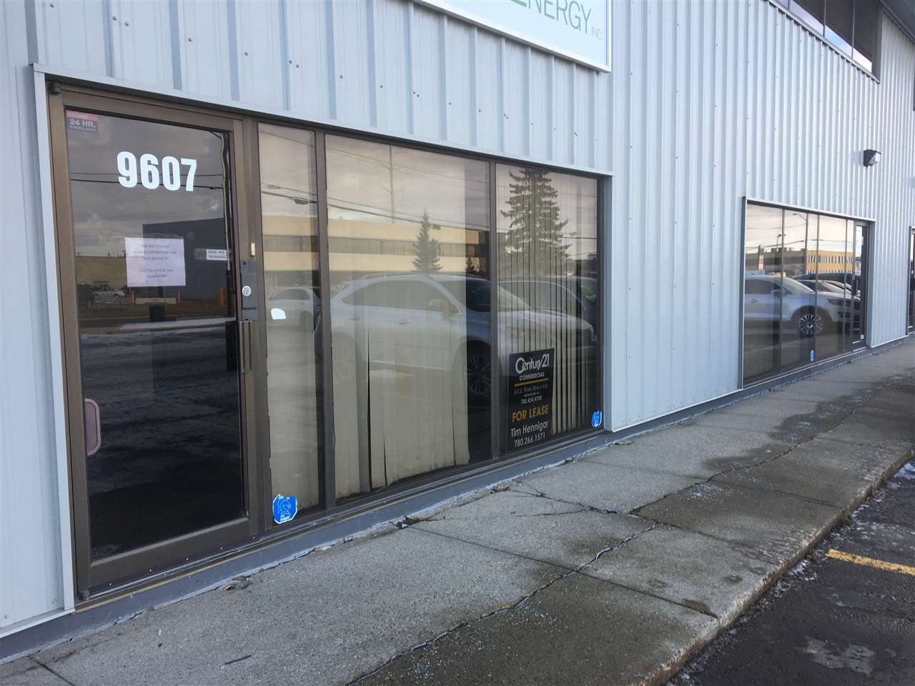 Great Zoning here, IB, makes this a desireable multi use property. Front ground floor office space with 2 entrances and addresses, 9607 and 9611 41 Ave.  9607 has 1050 ft2 and has a lockable connected door to the smaller office of 450 ft2. total dimensions are approx 50x30 foot . rear bay dimensions 50x60' Lots of parking available. Larger side has 2 baths and small kitchen area, smaller side has 1 bath and coffee counter. Attractive space. Flexible lease term will be considered. Great southside access to 91 st, Whitemud, and 99st.