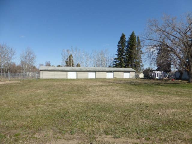 1.43 acres +/- Zoned C-2 Highway Commercial and is right on the high traffic area through the Town of Thorsby.  The property consists of an existing mini storage business, two rental houses, two large vacant lots.  Thorsby has tax incentives in place for new businesses & development and is very accommodating to new business ventures.  Only 30 minutes to EIA, quick access to Hwy 39 & Glen Park Road.