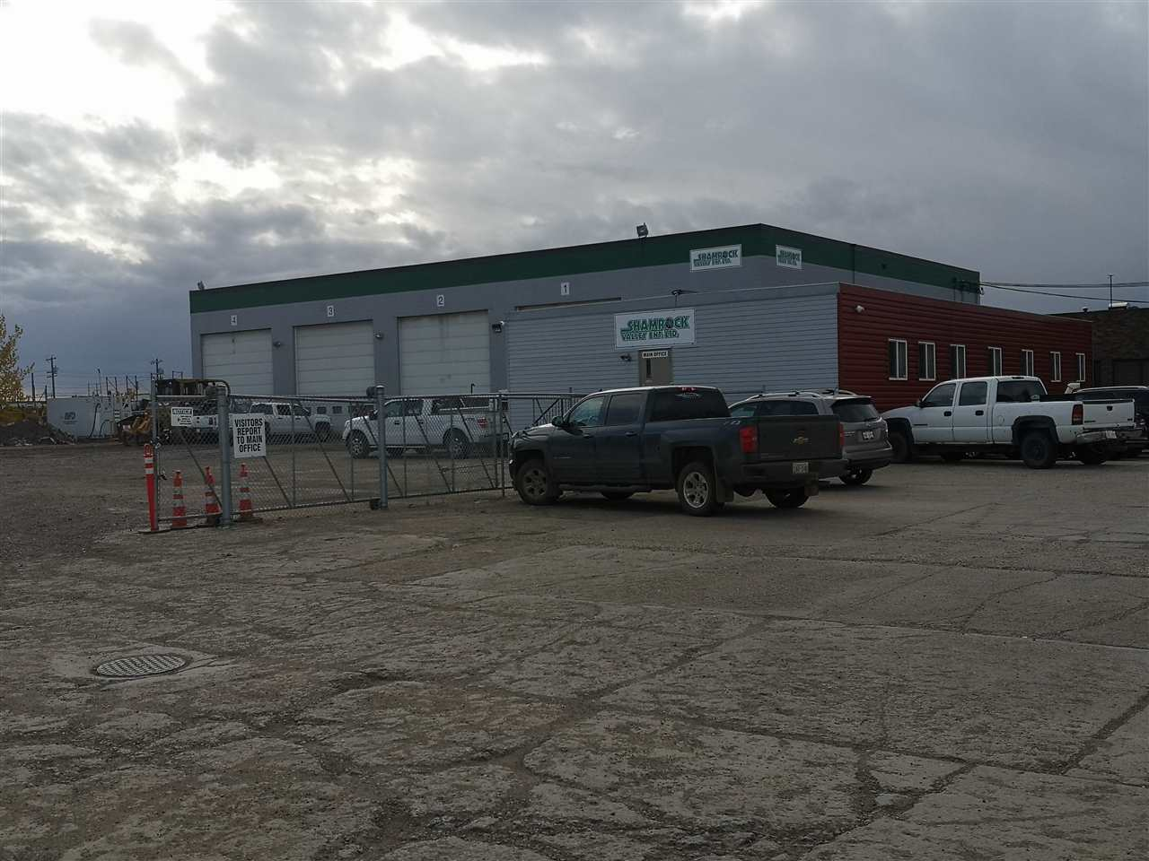 REDUCED! Excellent Industrial site with 2 - 10 ton & 1 - 5 Ton cranes, wash bay, tool room and everything you need to service heavy equipment. Convenient location just off 170 St and close to the Yellowhead. Yard is fenced and secured. 20x20' shop doors, approx 1.5 Acre yard space ready for heavy equipment. 9434 sq ft shop space balance in office space. Mezzanine of 1517 included which consists of storage/lunchroom/locker area. Flexible lease options. High efficiency radiant heat being installed.