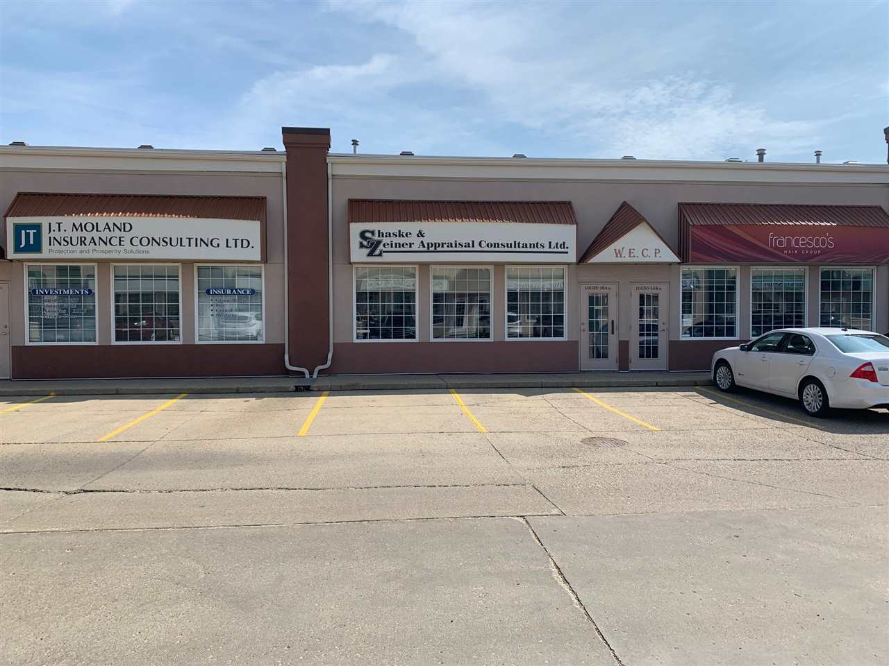 Turn key professional office space available for Sale/Lease. Fully air conditioned, with built out offices as well as open concept working spaces. 3 minutes from future LRT Jasper Place stop.