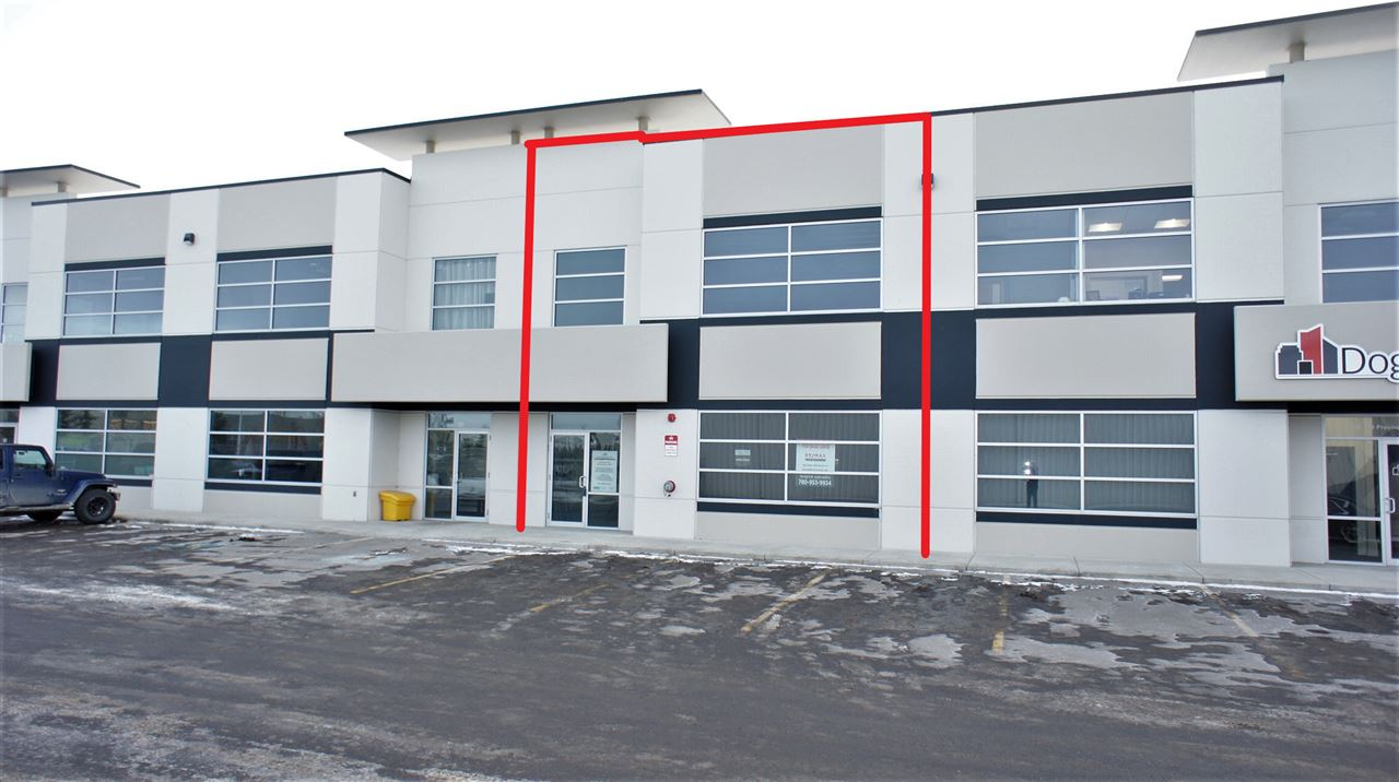 Last Unit Left! 3405 sf tilt up concrete office warehouse condo in Sherwood Park. This 30' x 83.5' bay offers a 2405 SF floor plate and additional 1000 SF of load bearing concrete on Q deck mezzanine. Roof top HVAC, radiant heat in warehouse, 14' x 12' grade loading door and 225 amp 3 Phase power. Fully sprinklered , 20' clear warehouse ceiling height. Condo Fees $435.75/month