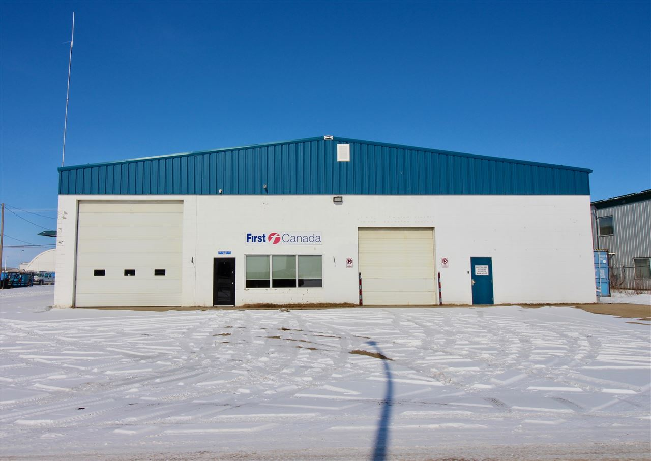 Prime location along 50 Avenue/Highway 28 with maximum exposure. This 8800 sq.ft. industrial building consists of 2 offices, reception, 2 bathrooms and the balance in shop space. An attached truck wash bay is an added feature that will compliment a variety of uses. Yard is fenced and has access to 52Ave providing 2 access points and plenty of storage and parking space. Great location to open or expand your business.
