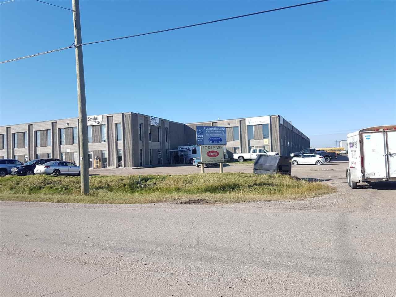 2,560 sf industrial bay. Wide open with only a new washroom. Build out to fit your needs. Two 12' X 16' OH doors. Man door front and back. 2 stage sump. 23' ceilings with over 19' clear. Large windows allow for plenty of light. Longer term escalating lease is preferred but shorter leases at higher rates will be considered.  Other bays are available including up to 7,680 sf contiguous. Former restaurant space of 1,367 sf with mezzanine also available.