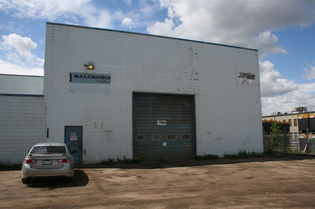 8300 Sq Ft Warehouse zoned IM ( Medium Industrial) with Drive through Bay Doors, heavy power ( 600 AMP), (1) 10 ton Crane   (2) 5 Ton cranes and Numerous Jibs, Welding stations, Exhaust removal, up to 3/4 acre Fenced  gravel yard available @ $.75 Per Sq ft   Great south east location with ease of access to Anthony Henday , Whitemud and Sherwood Park Freeway