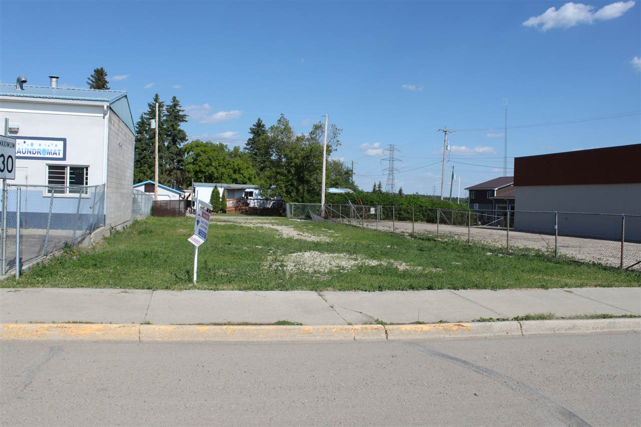 Prime Commercial Land Location!  Amazing spot just a short walk from the shores of Lake Wabamun.  This 50' x 130' lot is located less than one block from the main boat launch.  Ready for future development, this is a fantastic location at the corner of the 2 busiest roads in town.  It's a great deal too!  Land for sale only.. no business or chattels included.