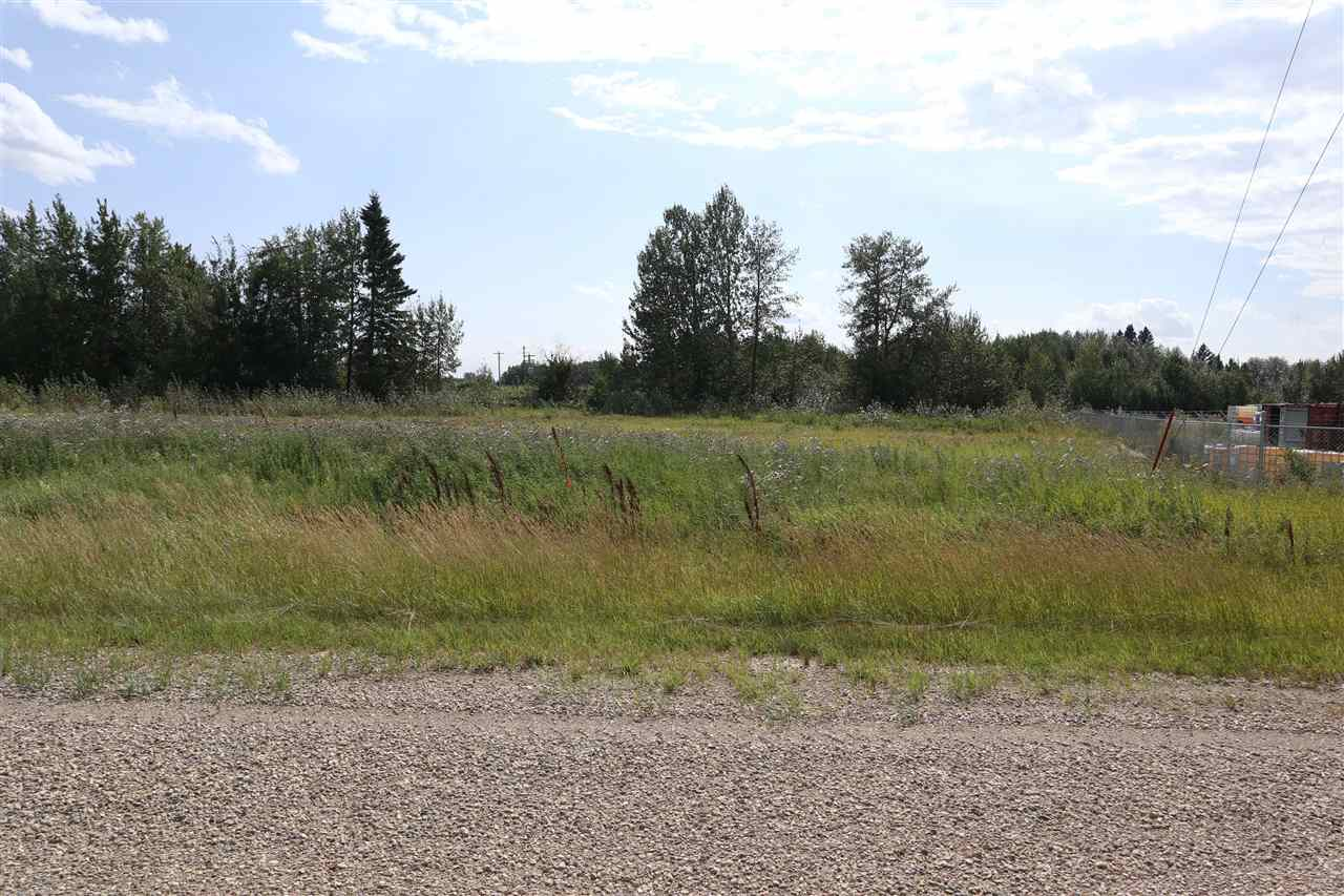 1.49 acres industrial commercial lot located at the north end of Thorsby.  Very visible Highway 39 exposure with high traffic count.  Prime Highway 39 exposure.