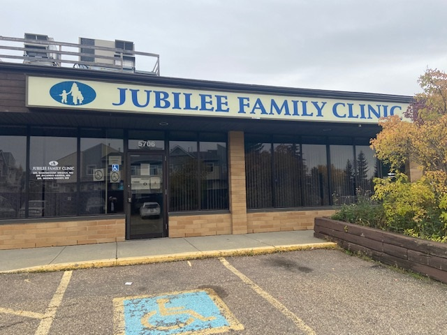 """2854 sq feet (approximate) available for lease, located at 5706 19 A Ave NW, Edmonton. This leasing space is a """"ready to use family medical clinic"""" and this was being used as Jubilee Family Clinic for the last 18 years, which is recently closed. Family medicine clinic equipment, patient contact information files may be available from the previous tenant. This space may also be good for any insurance company, lawyer's office, real estate firm and or good for many other businesses."""