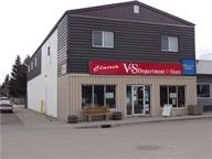 Amazing Investment Opportunity in Evansburg! This well-maintained concrete block retail building has main floor variety store containing 3000 sq. ft. of retail & 625 sq. ft. of shelved warehouse. Also Included Upstairs is a 1300 sq. ft. Open Concept Apartment with a Large Attractive Living Room, Country Kitchen/Dining Room. This suite includes Newer Floors, Lino, Hot Water Tank, Furnace and Fridge and even an Updated 4 pc Bathroom. 2 Spacious Bedrooms, an Office. There is also an approx. 1700 sq ft. of Existing Space Upstairs to Customize into a Second Suite or Other Possibilities. This Property has a Perfect Location Too! Upgrades In retail area, 3 new hanging furnaces, newer picture windows, counters, flooring. The warehouse-new tin roof sheeting, siding and some eaves trough replaced. There is an opportunity for the Purchaser to acquire the existing Business which would, upon approval, consist of the Variety Store, an ATB Outlet, and Fudge Production. These will be Negotiated Separately with the Leasee