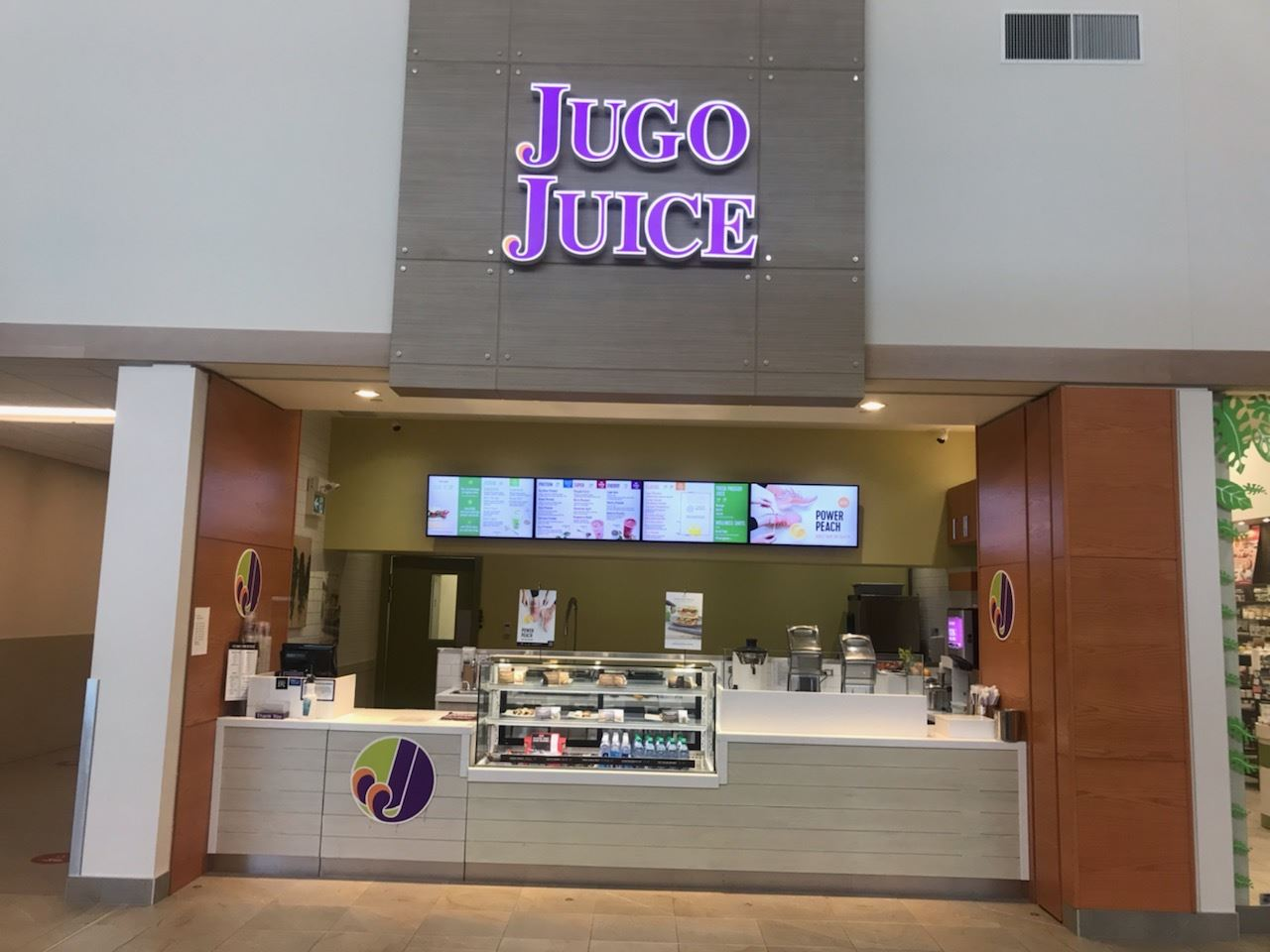 This JUGO JUICE business located in the Edmonton Outlet Mall. It is one of the most recognized brand for smoothies in Canada. It offers the finest smoothies, snacks and healthy lifestyle products. Simple menu and easy to operated. This business is ideal for family managed. The Mall becomes more and more good brand store join in and give more traffic for the business and sales will increase.