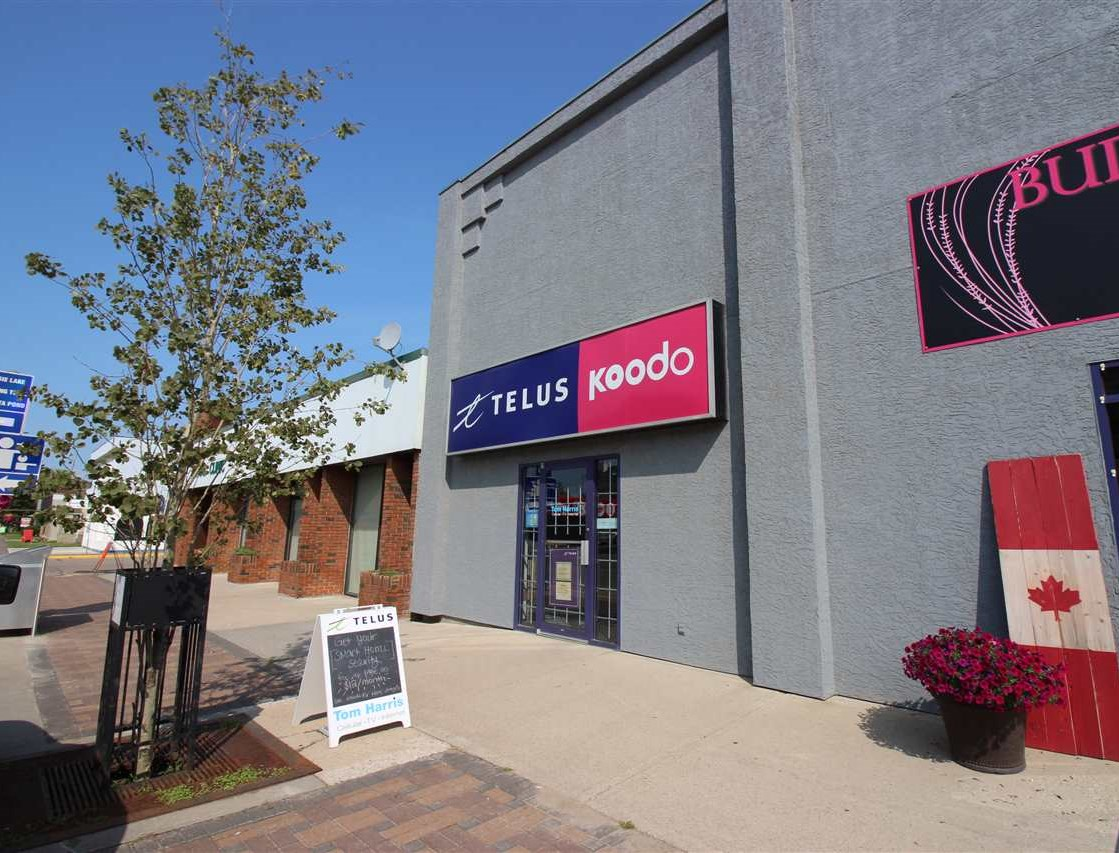 Prime retail space for lease. 1415 sq ft located on main street Bonnyvillle in the heart of the downtown core. Excellent opportunity for retail business, office space plus so much more!  Take your business to the next level in this great location! Owner is open to look at offers for short term rental.