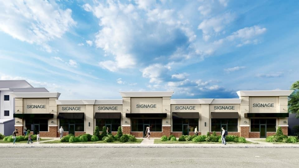 BRAND NEW PLAZA-101 AVE BY JAWADCO DEVELOPMENTS.  This Retail space will be ready fall 2021.  UPTO 7500 sq/ft and exposed to high traffic.  Neighbourhood is just perfect for Business You've been wanting to move.  Landlords welcoming DAYCARE, PHARMACY, MEDICAL CLINIC, FAST FOOD STORES, BARBERSHOPS, COFFEE SHOP, AND MUCH MORE.  Spaces available from 1000 sq/ft.