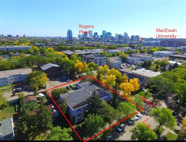 Cheviot Manor is strategically located on a quiet, tree lined street, surrounded by other apartment buildings and newer condo development. Near several schools and existing transit including NAIT LRT and in the ripple zone of the Rogers Place Ice District plus the shopping along 107 Ave and Oliver Sq.  The 15 suite, 3 storey walk-up contains 3 bachelor, 10 one & 2 two bdrm suites. In above average condition for a 1972 built wood frame building. Approximately 75% of suites have been renovated on a consistent program since 2011 to date, summary available. Landscaping and common areas renovated in 2015. Excellent investment with additional upside potential available.