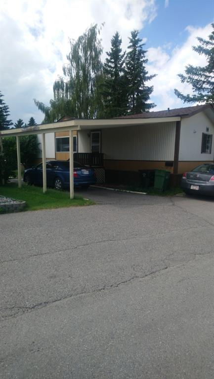 This 3 bedroom unit has been freshly painted.  Master bedroom has a 4 piece en-suite. Vaulted ceiling in living room. Roof shingles are approx 3 yrs old.  Off street parking  in Carport. Fenced yard area with 2  sheds. Bus service comes into the park.  Lot rent is $820 and includes  garbage pick-up, water and sewer.
