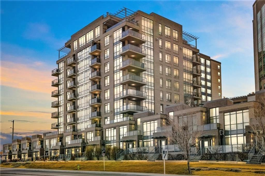 Fantastic location close to all amenities, parks, schools, Fish Creek park and the C-train just mins away. This well done 2 storey executive townhome is a must to see! Open concept from the kitchen to the living and dining room area. Newer flooring throughout the main level . Kitchen with stainless steel appliances, tons of cabinets, quartz countertops and eating bar. Half bath complete the main level. Upstairs features 2 large bedrooms including master with 5 pce ensuite, 'his & hers' closets and private balcony. Spacious 2nd bedroom and 4 pce bath up. Front entrance of the unit leads to the street as well as a second exit that leads to the main lobby area. Comes with one heated underground parking stall. This home is a must to see!