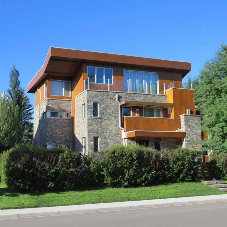 6800+ feet of luxury over 4 floor on a rare 75' frontage overlooking the Elbow River & D.T. This 5/6 bdrm, 4.5 bathroom home is a masterful compilation of detailed design, supreme luxury, low maintenance & energy efficiency. Designed & over-built by Mike Holmes in 2012 everything was built with a purpose from the Parlex 50 year warrantied siding to the doubled foundation intended to support 3 levels of concrete for health & durability, before the design switch to utilize mold, bug & water resistant 'blue wood'. The materials & systems were chosen for their integration and ability to function at the highest efficiency while maintaining the most premiere luxury finishes. Imported Italian closets, extensive woodwork, green living wall. The results are one of the highest performing, healthiest living, lowest maintenance, lowest operation cost, most durable homes in Calgary! Creating the easiest of living environments with everything at a touch of a button on the installed touchscreens or via your smartphone. Wherever you can connect in the world you'll be able to monitor and control the systems of this home. Easy living in the finest fashion possible. Call Agent for details on Covid-19 protocols for arranging a showing!
