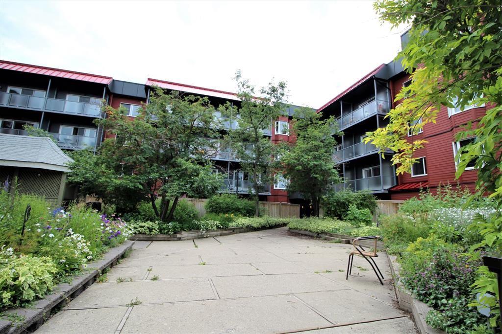 Huge 1249 sq ft 2 bedroom condo with walk in closet, ensuite, fireplace and beautiful balcony for relaxing in the summer sun.  Underground heated parking with close proximity to all amenities including the airport.