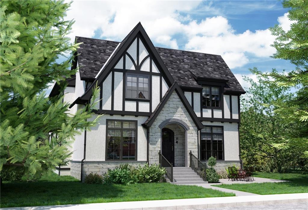 Located on a quiet tree-lined street just a few doors down from the community park & playground in coveted Elbow Park, this new build presents an exciting opportunity in one of the cities most prestigious communities. Built w/ the busy family/professional in mind, this executive-level property offers 4 bedrooms above grade (all with their own en-suites). Timeless architecture by Al McDowell & Associates expertly crafted by Boutique Inner City Builder Tyrrell Custom Homes. Main floor built w/ entertaining & family life in mind, large principal rooms & wonderful indoor/outdoor flow. Executive-level kitchen is complete w/ Wolf & Sub Zero appliances & opens to breakfast nook & stunning living room anchored by a beautiful fireplace w/ Trumeau cast stone mantel. Easy transition to the covered outdoor living area that enjoys infrared heating, gas fireplace & Sonos Sound, ideal for extending the outdoor season. The elegant master is the perfect retreat w/ stunning dressing room & lavish en-suite. The lower level offers a 5th bed, full bath, media area, recreation, & dedicated fitness room with rubber flooring. In-floor radiant heat ensures the space is enjoyed year-round. The triple garage is insulated, drywalled & heated. Stroll to the River, Parks, some of the Province's top-rated public schools, the Shops on 4th Street, & Downtown. Elbow Park is one of the oldest and most desirable communities in the city, home to beautiful tree-lined streets and some of the city's most gracious properties. Possession is slated for Autumn 2021, floor plans and finishings available upon request.