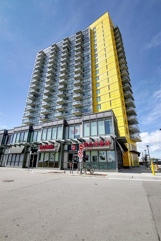 Priced to sell: Largest is always the best! Cozy twin Master bedrooms (2 ensuites) unit with tons of upgrades , overseeing U of C & COP view. With an open concept floor plan, this unit has a 9 ft ceiling, Central Air-Conditioning, bright living room with wall to ceiling windows, noise reduction patio door leads to balcony with beautiful view. Laminated wood flooring throughout the unit. Open kitchen with upgraded kitchen cabinets and stacked washer/ dryer. This unit also includes a title parking stall (52-p2) with storage (387-p1). Building is equipped with gym and meeting room on ground floor, part time security on site, bicycle racks & visitor parking. This building is steps away from Brentwood C-Train Station, Brentwood Village shopping Mall, restaurants with excellent cuisine & pub, within walking distance to U of C.