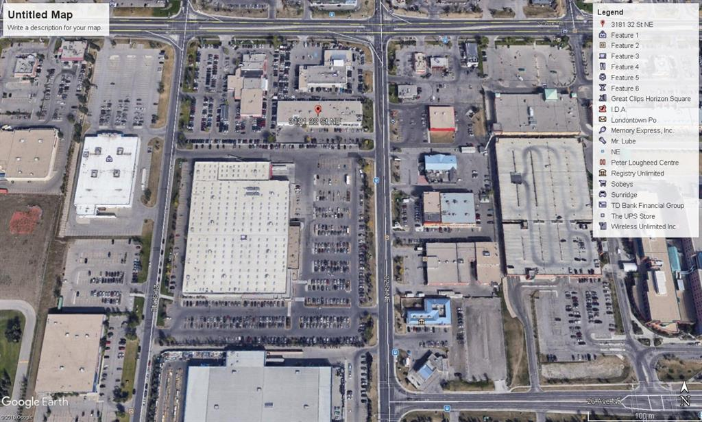 2,893 sq ft end unit fronting onto 32 Street NE Shadow anchored by Costco, excellent visual  and signage exposure lowest retail rates rates in area