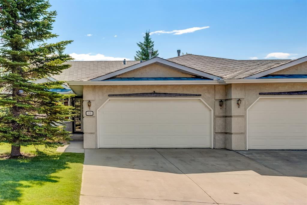 A wonderful opportunity to own a Villa Bungalow in Arbour Cliff Close in the beautiful lake community of Arbour Lake. This is not a condo development. Residents pay a $134.00 monthly fee to the homeowner?s association for landscaping, snow removal, and irrigation maintenance and upkeep. Imagine the freedom and flexibility of a low maintenance lifestyle. This spacious walk-out bungalow offers over 2400 sqft of total living space. Upon entering you will notice the soaring vaulted ceilings and the open concept living and dining areas. The adjacent rear kitchen and breakfast nook open onto a huge deck perfect for enjoying morning coffee in the sun. The master bedroom is spacious and features walk-in closet and 3pc ensuite. A second/guest bedroom and additional main bath ? complete with compact jetted tub ? round out the main floor. The basement awaits your design inspirations. There are endless possibilities with many large windows and a separate entrance leading to a private covered patio and yard space. The double attached oversized garage is perfect for a home handyman or hobbyist. Central Air Conditioning and convenient main floor laundry make this impressive unit the total package. Come and take a look today!