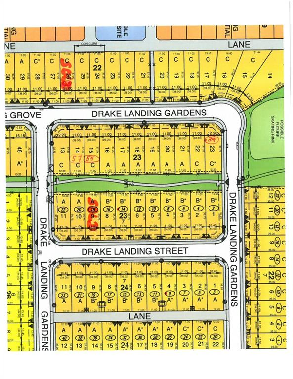 Land for sale on a  wonderful corner exposure with rear green belt (rear gate opens to pathway leading to a pond only a block away)  and side exposure with view to green space/play area across the street. Family and quiet location with extended walk-bike paths, close proximity to schools, pond area and shopping.   GREAT OPPORTUNITY TO CREATE YOUR NEW HOME HERE.  Buy this lot , get creative , and build with your choice of builder.  This lot is priced to sell and immediate possession.  Realtors - read Agent Remarks.