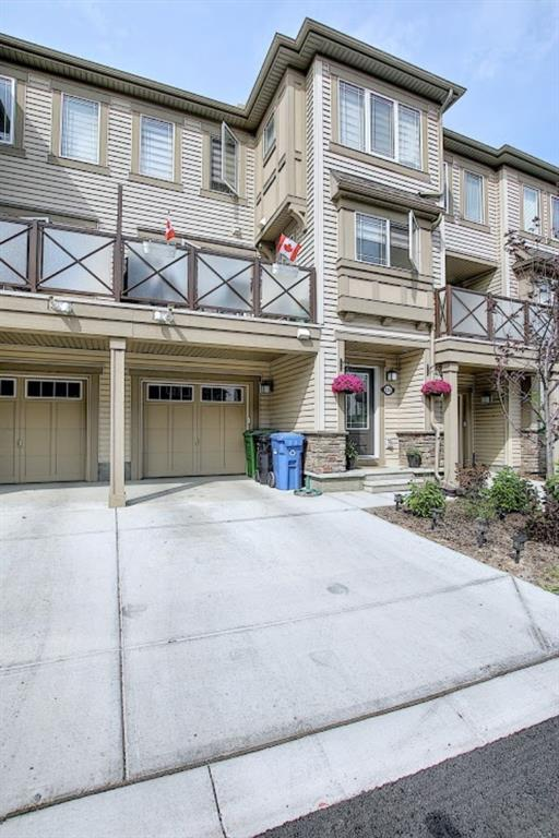 Absolutely stunning 3 storey townhome in the beautiful community of Cityscape. Spacious open concept main floor that is exposed to tons of light. This home offers 1293.3 sqft of living space that includes 3 washrooms and 2 massive rooms. The timeless kitchen which features quartz countertops over looks the dining and living area. This unit also provides a massive balcony that gets plenty of sunlight and perfect for summer BBQ's. This townhome includes a single attached garage with a driveway to cover for more parking space and not to mention tons of room for storage.