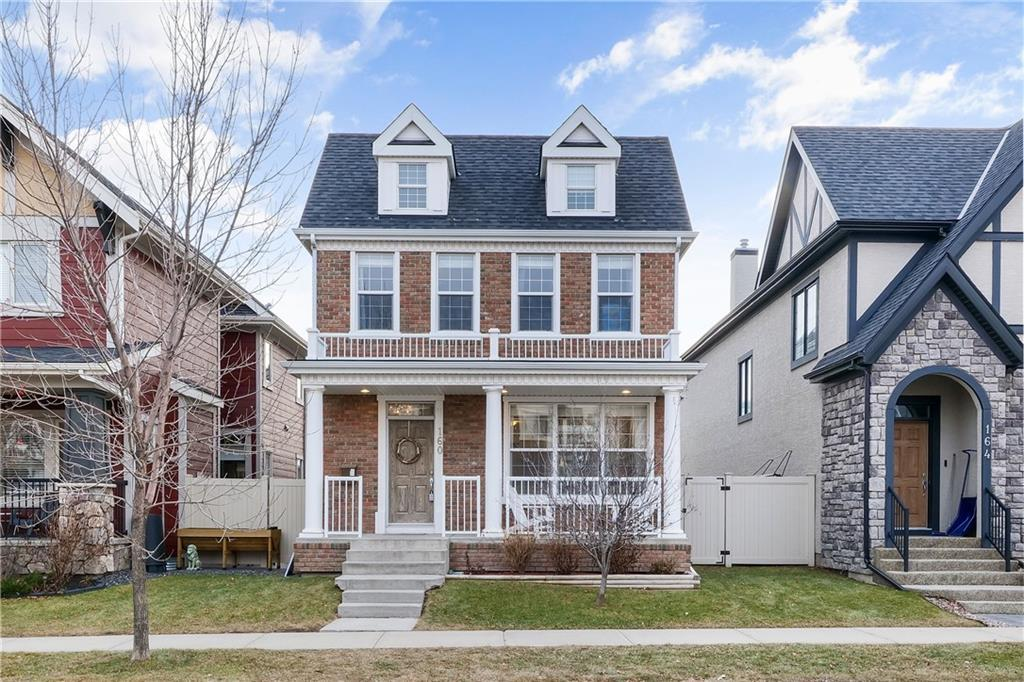"""ALERT!  OPEN HOUSE SUNDAY OCT. 4  2-4 PM !!! WOW....PRICE ADJUSTMENT $75,000.00 ....Click on Virtual Tour Icon... Immaculate 3,300 sq.ft fully developed 2 storey w/4 bedrooms, Desirable Inner city community Garrison Green. Bright Living room w/gleaming hardwood floors+ gas fireplace, Kitchen w/large granite island, upgraded stainless appliances + gas stove, large dining nook. Staircase to separate Bonus rm w/vault ceilings + 2pc bath, mud room off kitchen to attached Double garage,drywalled + insulated. 2pc Powder on main,Curved 2nd staircase to upper level Master w/spa ensuite soaker tub /separate shower+dual sinks,Large walk in closet,2 good other good size bedrooms w/stylish""""dormer windows"""" and 4pc bath. Lower level games/family room, 4th bedroom + bath. Cool understair extra storage w/small barn door. Triple glazed windows/doors very efficient + quiet. Central A/C, upgraded lighting,Hunter douglas blinds.2 seperate composite decks recent $5,000 upgrade, bbq. hook-up. Designer neutral colours. Walk to Park + shopping, 10 mins to downtown. WOW !  Exceptional Value!"""