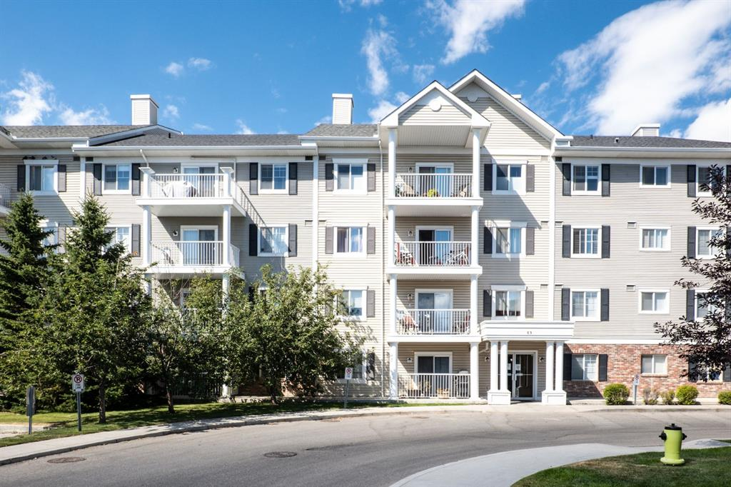Beautiful 2-bedroom, corner unit condo in Lighthouse Landing of Country Village.� Whether it is walking around the lake, relaxing in the nearby gazebo, or enjoying the public greenspaces ? Lighthouse Landing has everything you need. This bright, 3rd floor condo welcomes you with a large entryway, leading into the open concept living area. The kitchen features a long peninsula island with breakfast bar and loads of cabinet space. The spacious living room has a corner gas fireplace, large windows and sliding glass door leading out to your corner, wrap-around deck. The large master bedroom has a walk-in closet and 4-piece ensuite.� The space is completed with an additional bedroom, 4-piece main bathroom, & in-suite laundry/storage room. With one titled, underground parking stall - complete with storage cage ? your vehicle can stay sheltered all year long! Walking distance to many incredible amenities including Vivo Rec Centre, the shops & restaurants at Crowfoot Village, and more!��