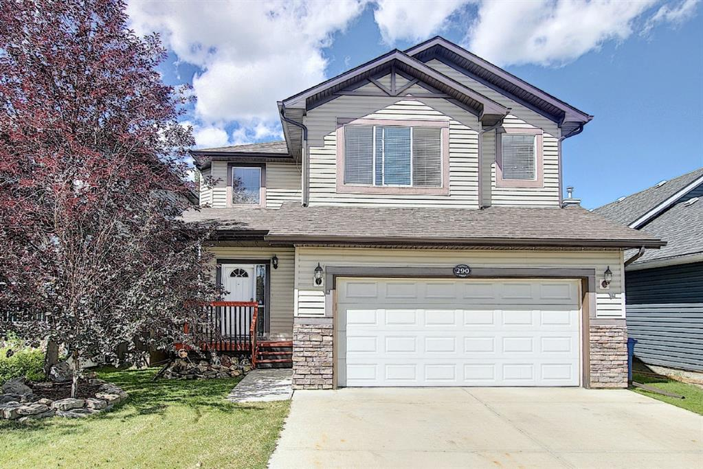 For more info click Multimedia - Perfect Family 2 Storey with 2105 Sq Ft A.G., 3 Bedrooms, 2.5 Bathrooms, Completed Basement, O/S Garage & Back Yard FUN! Located in a quiet Canals cul-de-sac. Plenty of trails, waterways & parks! Step from the Covered Front Veranda to the Grand Entrance Foyer & enjoy an Open Concept Home. Upgrades!! - For more info click Multimedia