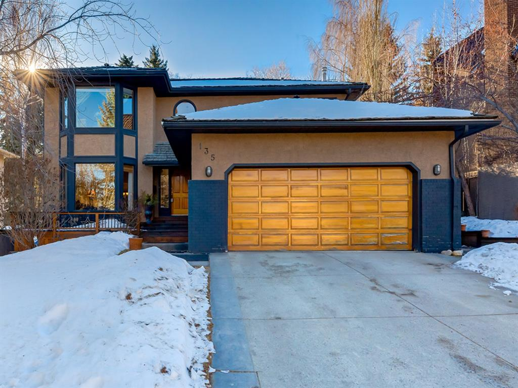 Welcome to this spectacular ,FRESHLY PAINTED  main level estate home.  As soon as you walk in the front door you are greeted into a large foyer with warm slate floors and an abundance of natural light..  Glance into the great room  &  see the elegant stone wall, temperature controlled, gas fireplace.  As you head in that direction your eyes quickly take in the beauty of your serene backyard and you'll notice the rock featured water fall and beautiful rock garden.  As you turn to see what's next you are invited into the masterfully designed kitchen that includes a Miele dishwasher, Sub-zero fridge and hand made wine rack all complemented by stunning granite countertops & cherry cabinets..  The 3 bowl sink is an extension to the attention to detail with the garburator in the middle sink (scrape while washing and drying).  The next room is a  grand dining room that's perfect for entertaining where you can serve your gourmet creations while glancing out to the gazebo..  Then to finish the main floor move to the very large living room  after dinner to sit and relax while enjoying your evening coffee.  Finish the main floor with of course a 2 piece bath and main floor laundry..  The backyard oasis comes complete with a screened gazebo, greenhouse,  hot tub, playhouse for the little ones, gas line for the bbq & plenty of deck to sit in the comforting sound of your personal waterfall.  All of this is low maintenance with underground sprinklers for the yard and a full drip system to water your flowers on hangers along the fence.  Upstairs you have another 4 piece bath, three good sized bedrooms,  plus a huge master retreat.  The 5 piece ensuite has a custom claw foot lava based tub that maintains its heat, separate  walk in shower, private toilet area and a custom built buffet with two sinks & plenty of storage. The fully finished soundproof  basement has an additional bedroom with custom closets, a wet bar with a Fisher & Paykel drawer dishwasher and a Liebherr fridge.  The