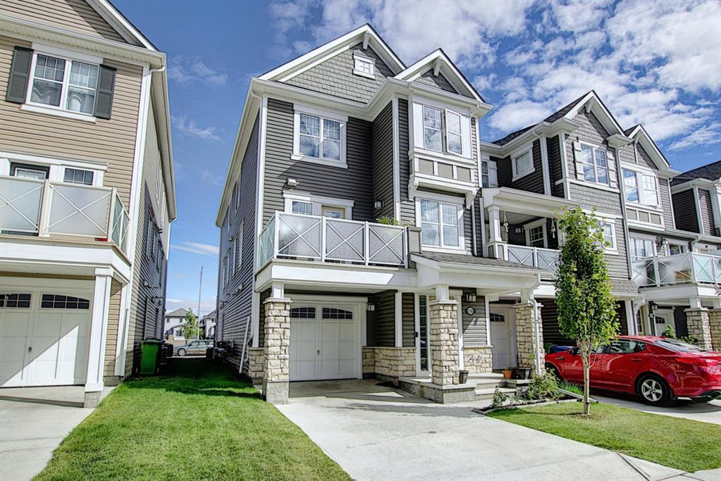 Here's an excellent town home with NO CONDO FEES that is situated in a fabulous location in Windsong, around the corner from the pathways, playgrounds and amenities this extensively upgraded unit will surely impress you the moment you walk through the door. You are greeted by a sensible lower level that offers direct access to your single attached garage, laundry room that offers amazing front load washer/dryer, and large mudroom. Head up the stairs and see the fantastic layout of the main level, highlighted with an stunning kitchen featuring; Upgrade Stainless Steel Appliances, pot-lights, quartz counter tops, mosaic back splash, modern cabinets & TONS of windows that bring in extra natural light throughout the home. Upstairs the home boast 3 great bedrooms, and an upgrade 4 piece bathroom. Call now for your private showing!!!