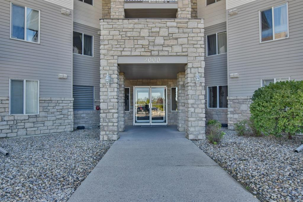 Welcome to unit 2117 located at 2600 66 St NE. This bright, beautiful condo boasting 828 sqft of living space, shows pride of ownership. Featuring 2 great size bedrooms, a dining area, a living room, and a  4 piece bathroom. Situates on the ground floor for easy access, the building is in amazing shape offers an elevator, lots of green space, close to public transit, within walking distance to the shopping center, schools, and playgrounds. Within 3 mins drive to major routes such as 16 Ave, Stoney Trail. Call today for a private viewing!