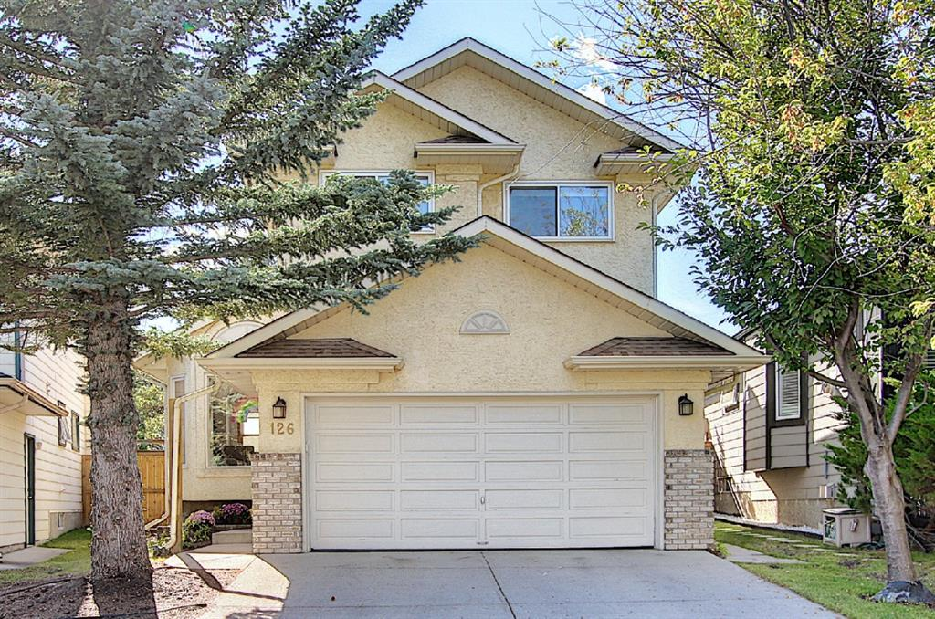 This beautifully maintained and significantly updated home is located on a quiet close in the desirable community of Lake Sundance. Walking distance to all lake amenities, schools, medical centre, shopping, and public transit. New energy efficient triple pane windows have been installed throughout most of the home, as well as interior modernizations that include vinyl plank flooring, knock down ceilings, and decor electrical switches/plugs. When you enter the home your immediately greeted by a large and open family/dining room with vaulted ceilings. The bright kitchen looks out over the main deck and West facing pie shaped backyard, and is steps from the living room and secound deck with potential to add a private hot tub in the future. Upstairs you will find a large master retreat with lots of closet space and 4-pc ensuite. Accompanied by two other nice sized bedrooms and 4-pc bathroom. The partially finished basements currently has one bedroom, and tons of potential. Take the virtual tour to truly appreciate this fantastic property.