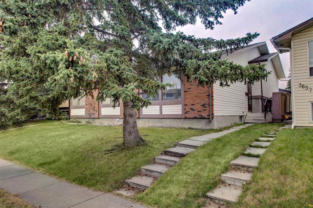 Attention Investors!  Positive cash flow is hard to find in the Calgary market, don?t miss this rare opportunity to own a lucrative multi-unit investment property.  This unit is a 4 level split with 3 bedrooms upstairs and 2 bathrooms.  Owner would like to sell both units of this duplex together so please also see the listing for the other side (Unit 3633).  Excellent tenants on both sides with fixed-term leases in place and interest to stay long term. The aspiring landlord?s rental income is de-risked and secure into the future. Property is easy to keep rented, located on Cedarille Drive,  is close to bus stops, schools, daycare, green space, and a convenient strip mall. Property is in good rental condition; clean and safe, with good bones. Increase your cap rate in the future with easy upgrades, or continue renting the property as is. Future Calgary ring road is adjacent to Cedarbrae just off Anderson Road, great for future commutes downtown.   See the attached feature sheet for more details on the unit and rental potential.