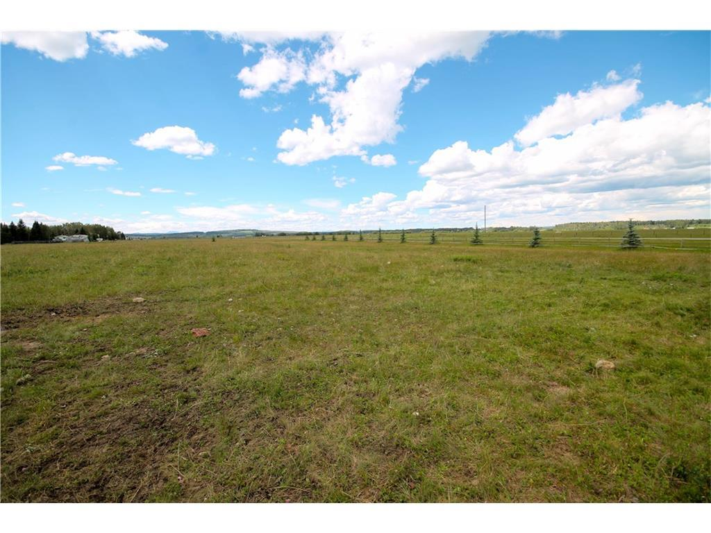 """Welcome to """"COUNTRY HAVEN ACRES"""". This lot is 5.45 acres with views to the west and just minutes to the river for fishing, boating and all your recreation needs.  The acreage has plenty of room for a horse and comes completely fenced.  Water well has already been drilled.   All utilities are available to the property line.  The property is just minutes to Sundre and all its amenities including the great schools, rec plex, stores and hospital.   GST is payable."""
