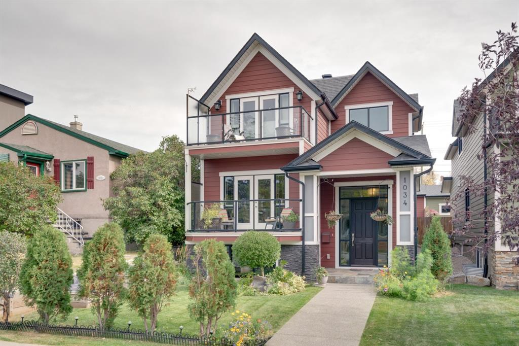 RARE OPPORTUNITY! This 2010-built DETACHED home in Ramsay is on an oversized 33' x 150' lot, giving you the best of both worlds - a gorgeous newer home that also has a great backyard and a dream garage! Located in a desirable inner-city community that is in walking distance to all of the restaurants and shops of Inglewood, Bow and Elbow River pathways, Stampede Grounds, East Village including central library and a K-6 school. This home has gorgeous curb appeal, tons of WOW factor and great natural light throughout! Beautiful front living room with gas fireplace and built-ins. A kitchen made for entertaining with huge pantry, custom cabinetry, under-cabinet lighting, high-end appliances. Rear dining room overlooks the yard. Made-for-covid main floor home office with a door :) Convenient rear mud/powder room off back door. Upper floor features master with vaulted ceilings, balcony and a luxury ensuite. Two additional bedrooms have a jack-and-jill bathroom and large closets. Upper floor laundry. Basement has oversized west windows, making it a bright, functional living space! Enclosed room is a great 4th bedroom or home gym with cheater access to the full bath. In-floor heat in basement. 23'x23' garage is insulated & drywalled with overheight door & attic storage. Front and back yards provide space to garden, lounge, play & entertain! Two west-facing balconies to watch sunsets and fireworks! Live the inner city dream life in this lovely Ramsay home! Oh and check out our virtual tour :)