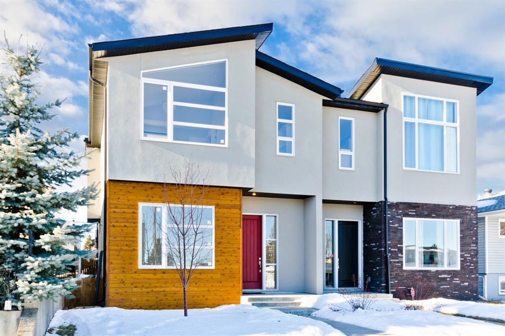 OPEN HOUSE THIS SUNDAY OCT 4/2020  1:30 PM TO 4:00 PM Brand new Custom home on a quiet street that features over 2676 sqft of living space with a west-facing backyard and excellent location just blocks away from shopping schools and the LRT. Attention to detail and finishing will impress the most discerning eye. Upon entering the home you will be greeted with 10' high ceilings, beautiful hardwood floors, clear sightlines & abundance of natural light. The bright kitchen features granite countertops, full-height cabinets, massive breakfast bar island, & stainless steel appliances inc. Relax in front of fireplace in the adjacent living room w/a wall of windows overlooking the yard. Wrought iron rails and a beautiful stair case will lead to the upper floor, laundry & 3 spacious bdrms including the huge master bedroom with a luxurious spa ensuite with dual sinks, a stand alone tub and a walk-in rain shower. The basement is fully finished with custom shelves and Wet bar. Hardwood can be selected by buyer! Heated double car garage detached.