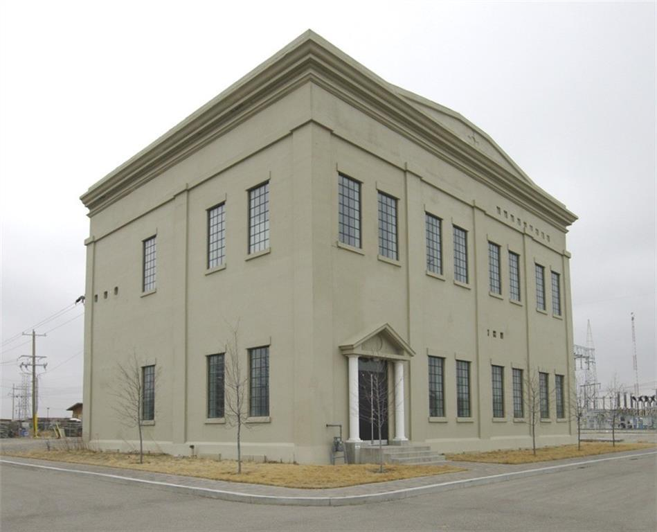 Own a piece of Calgary History.  Built in 1910 this 11,543 SF Two Story Building on 1.21 Acres of fenced yard in Highfield.  20 foot Ceilings - potential to build additional buildings/garages.  Lots of room for parking. Complete with Hoist,  and make up air.